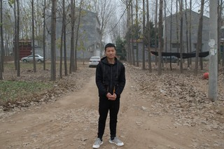 Zhou Junkai, 19, is from a village outside Minquan. He said there weren't many good job options for him after he graduated from trade school.