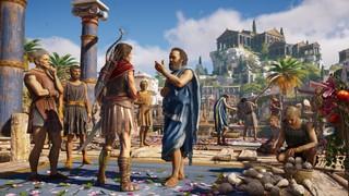 Kassandra talks to Sokrates