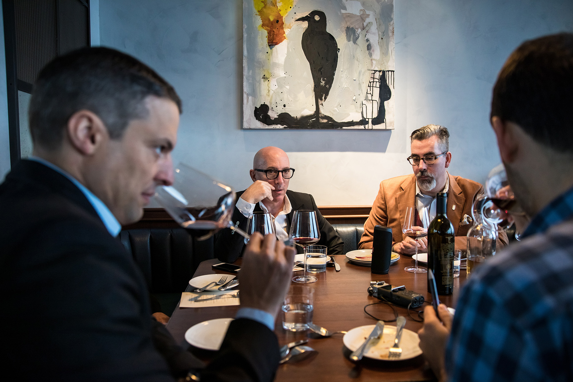 We Had Maynard James Keenan Judge Pairings of His Wines with Food