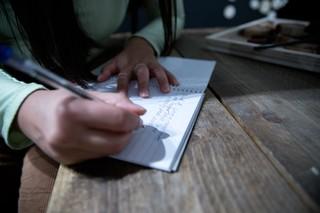 Zing Tsjeng journalling