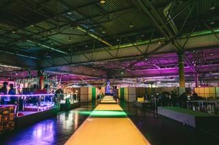 Blick in die Assembly Hall auf dem Hacker-Kongress des Chaos Computer Clubs in Leipzig