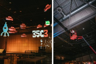 Projection Mapping auf dem 35C3