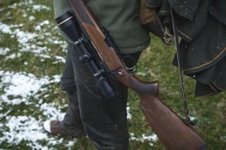 Ein Jagdgewehr