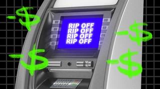 ATM fee photo collage by Lia Kantrowitz