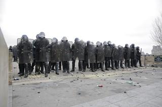 Mobilisation policière gilets jaunes acte 8