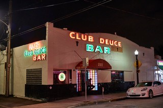 Exterior of Mac's Club Deuce