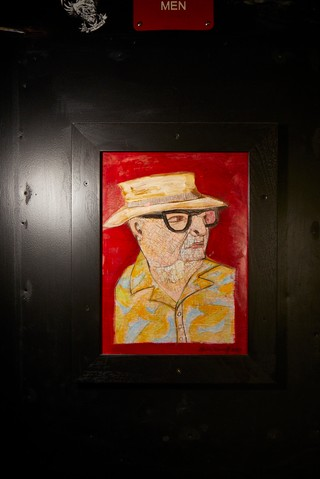 Portrait of Mac at Mac's Club Deuce