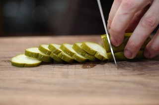 nick padilla slicing pickles