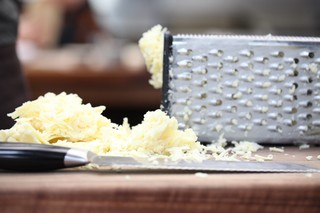 grated sharp cheddar cheese
