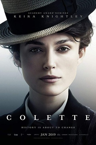 Keira Knightley in Colette promotional poster