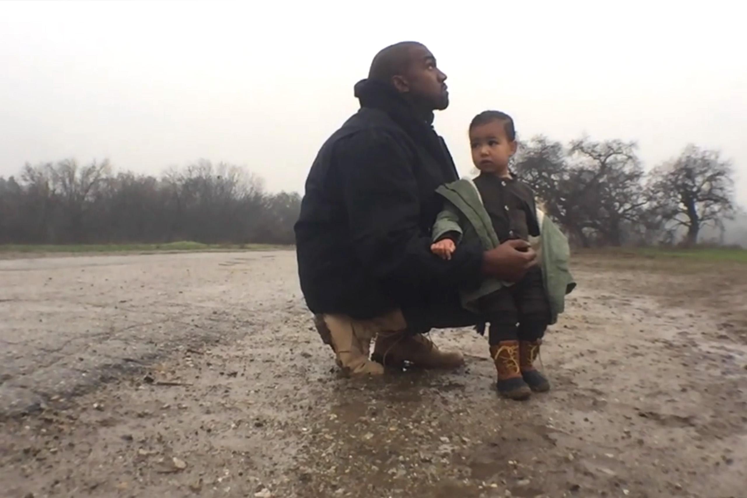 quanto grande è Kanye Wests pene