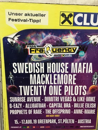 Frequency Festival Lineup 2019