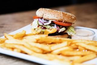 XL cheese på Burger Palace