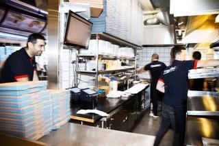 Burger palace køkken