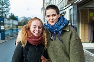 Fre Venstre: Sara og Sigrid