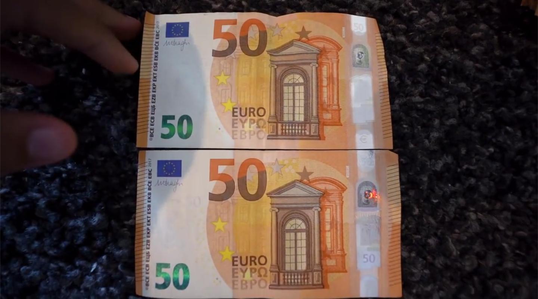 Zwei 50-Euro-Scheine