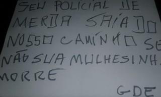 1547479947480-ameaca-para-policial-feito-pelo-GDE-divulgacao-PM