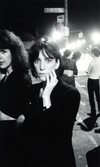 Patti Smith at CBGB's