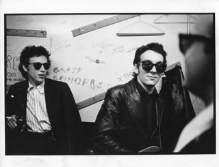 Richard Hell and Elvis Costello