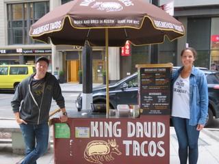 king david tacos stand