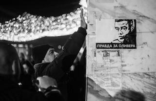 protest, beograd, Oliver Ivanović