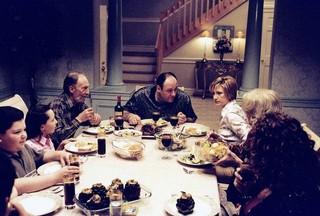 Familienessen bei den Sopranos