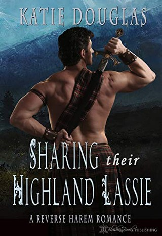 THe cover of the book Sharing Their Highland Lassie