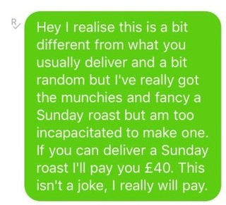 sunday roast text