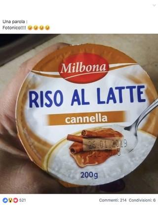 Riso latte lidl recensione