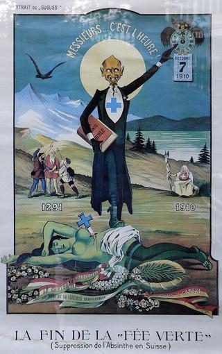 Affiche Absinthe Fin