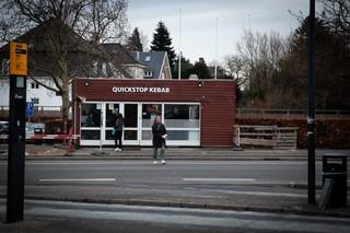 Quickstop kebab på Hellerup station,