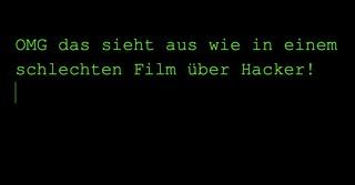 Dark Mode: OMG das sieht aus wie in einem schlechten Film über Hacker
