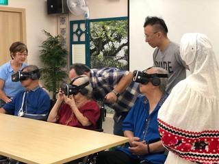 elderly VR