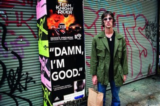 The Verve's Richard Ashcroft in New York.