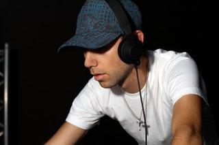 Tiga at a DJ set. Photo courtesy of the artist.