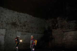 Checking out the Cisterns under Naples