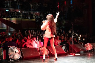Azealia Banks live in London in 2019