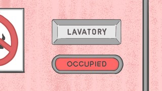 Lavatory occupied