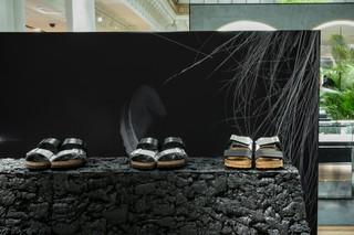 Rick Owens's glam Birkenstock sandals