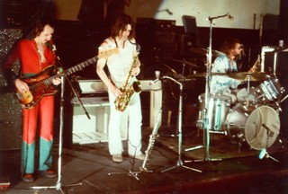 The band Audience performing at Space Electronic in 1972.