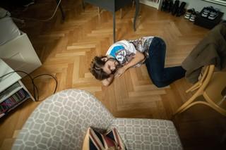 Michi Buchinger langweilt sich