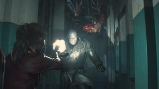 Resident Evil 2 Claire Combat