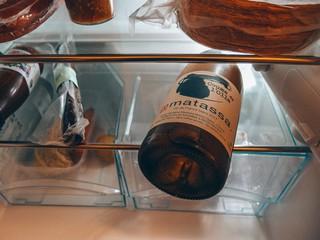 Naturwein in Kenny Thomsons Kühlschrank
