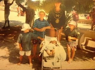 Evelijn und ihre Familie