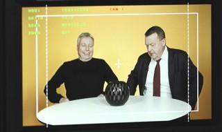 Uffe Elbæk og Lars Løkke Rasmussen