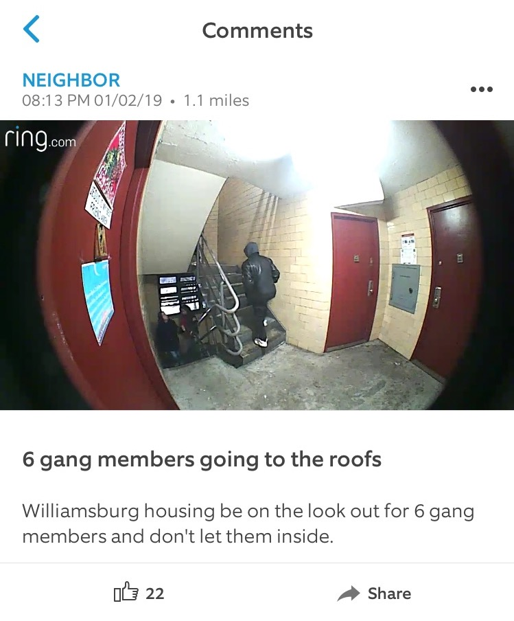 Screenshot from Neighbors.
