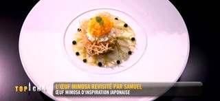 Oeuf Samuel Top Chef