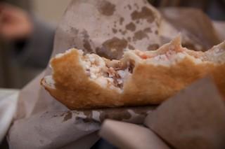 Pizza fritta -Cicoli
