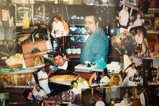 En collage af billeder gennem årene på Piccola Italia