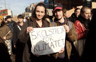 klimaatprotest amsterdam